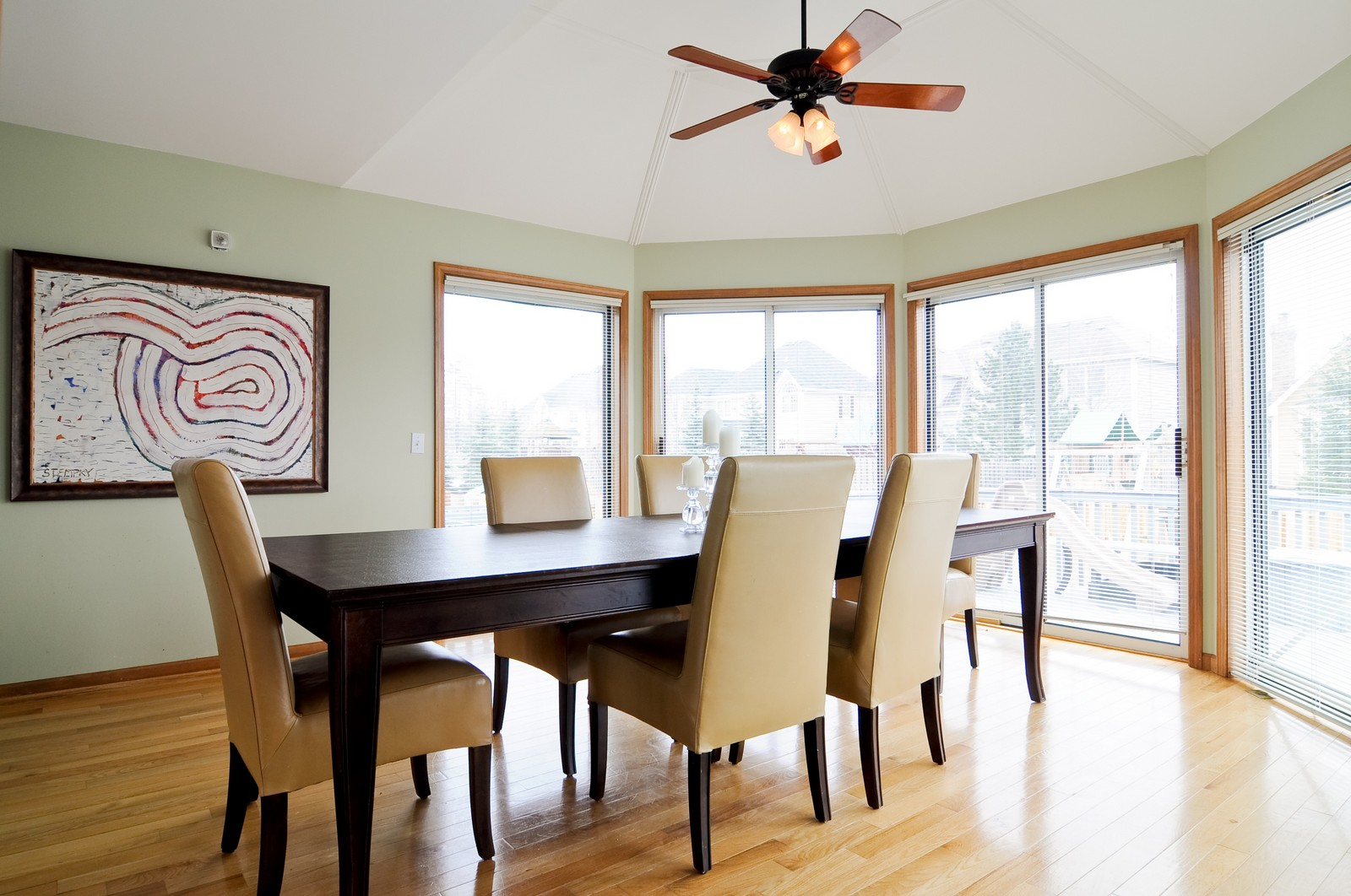 Real Estate Photography - 26W011 Quail Run Drive, Wheaton, IL, 60187 - Dining Room