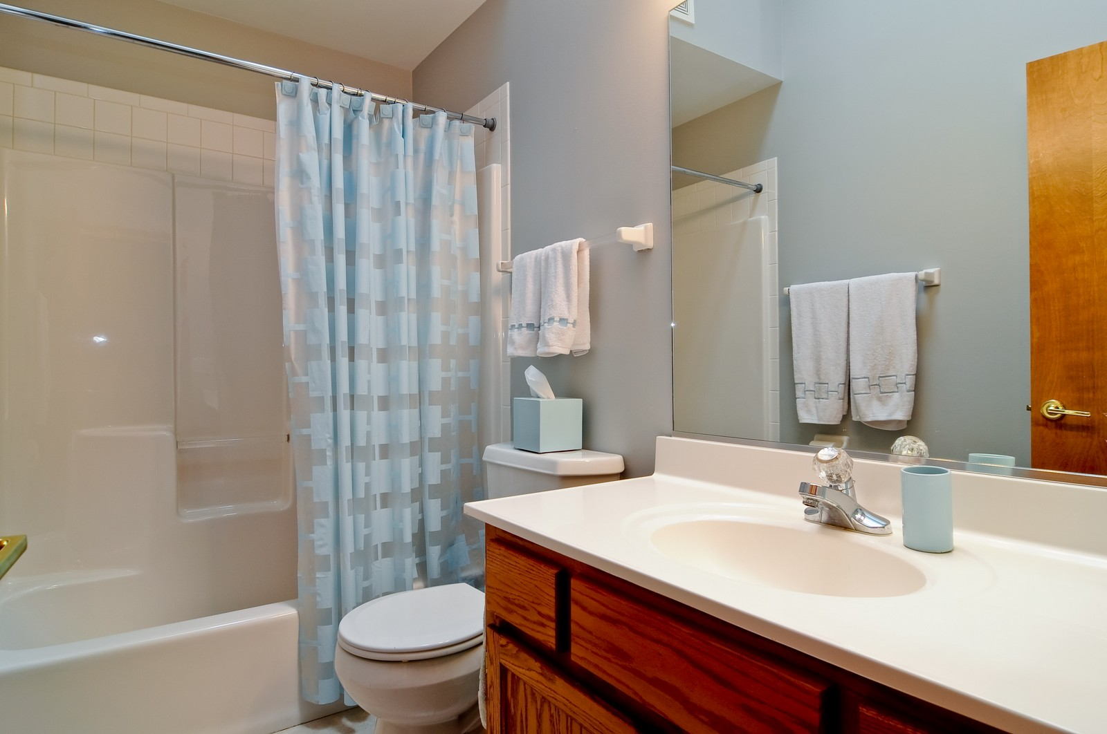 Real Estate Photography - 26W011 Quail Run Drive, Wheaton, IL, 60187 - 2nd Bathroom