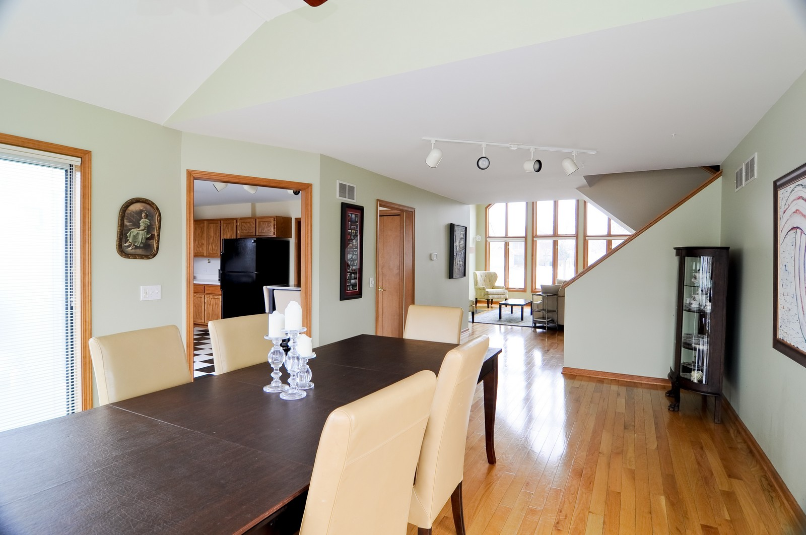Real Estate Photography - 26W011 Quail Run Drive, Wheaton, IL, 60187 - Living Room / Dining Room