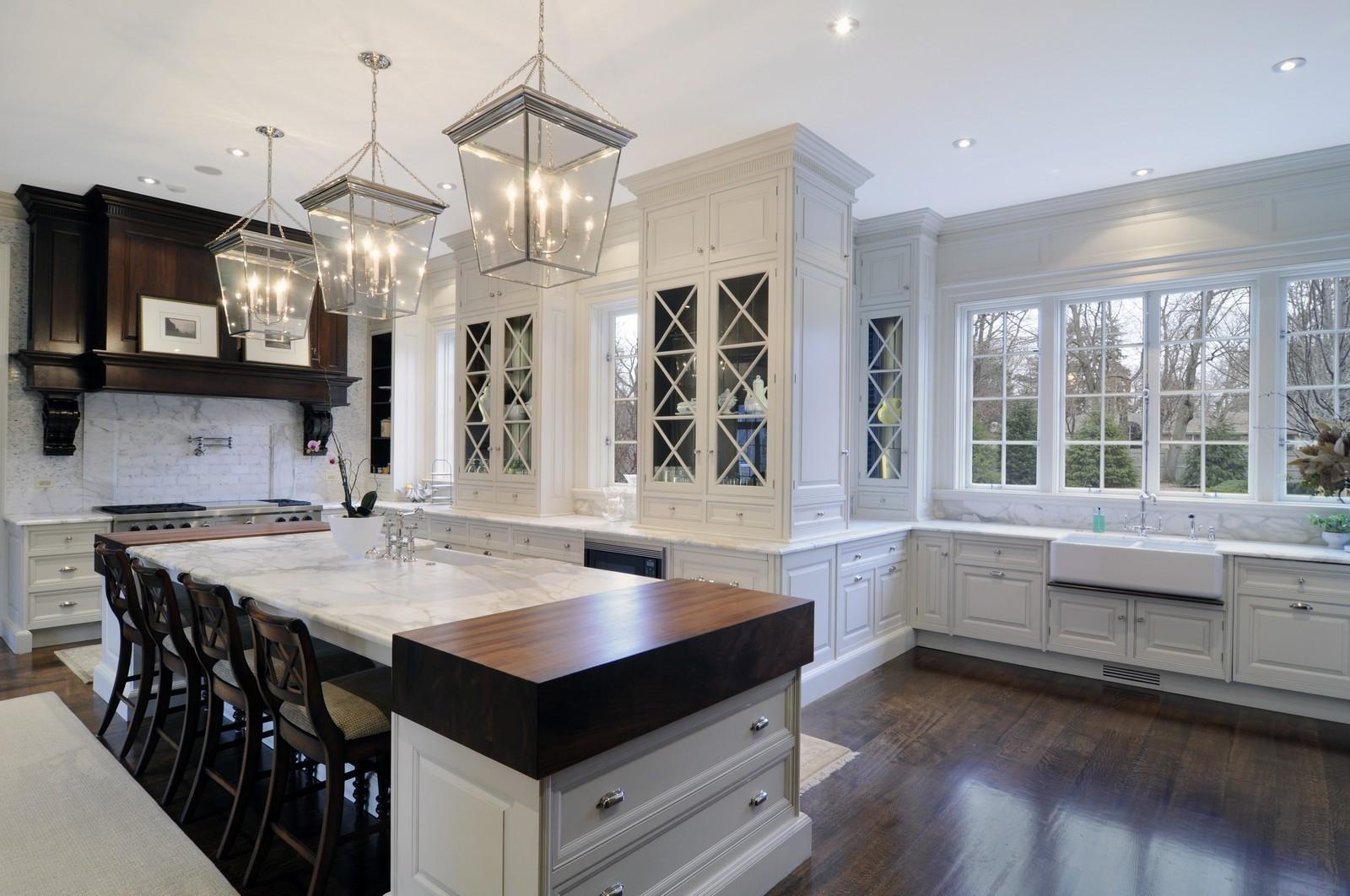 Hardwood Flooring Kitchen Countertop