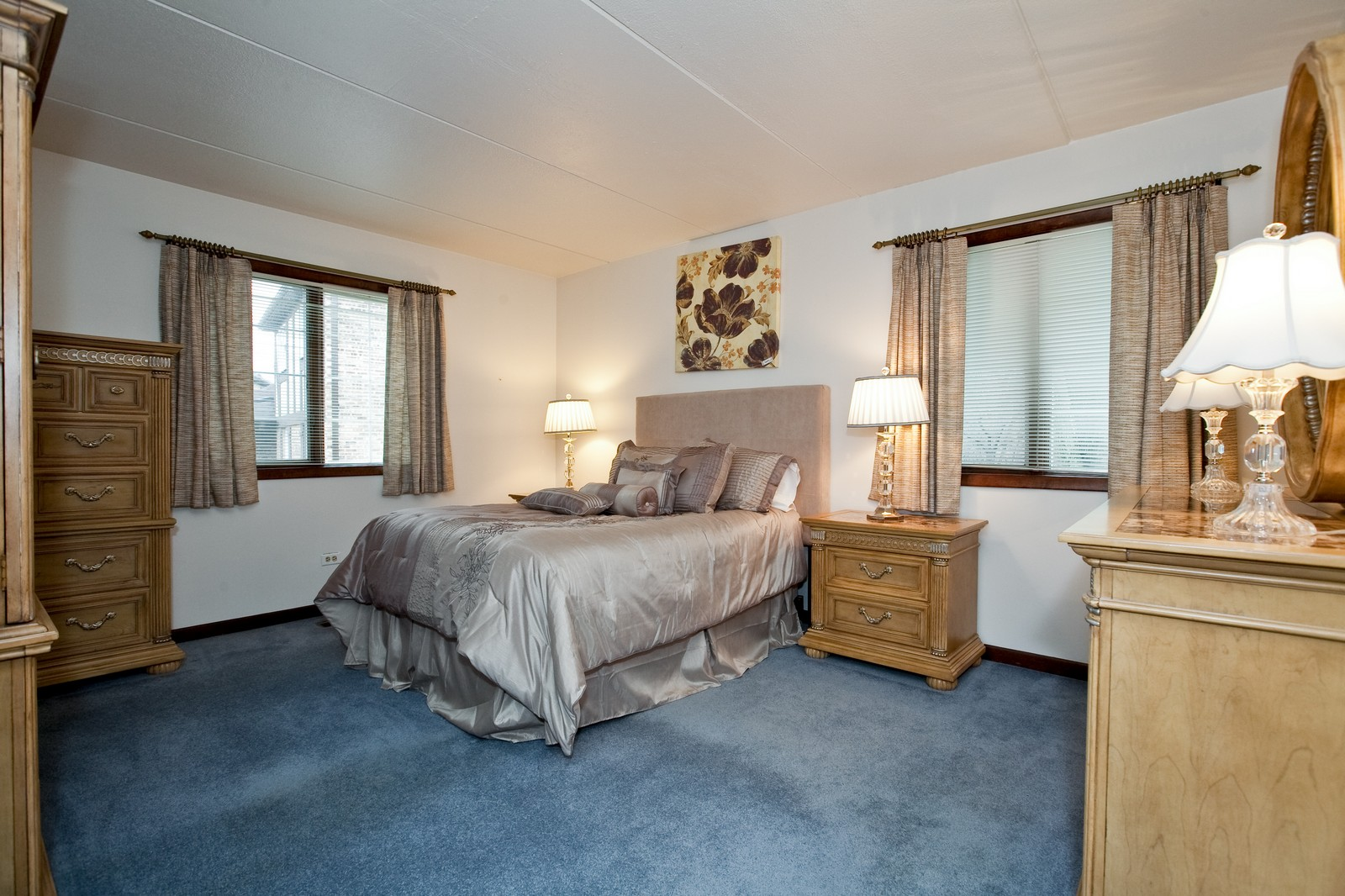 Real Estate Photography - 35 Shawnee Trl, Indian Head Park, IL, 60525 - Master Bedroom