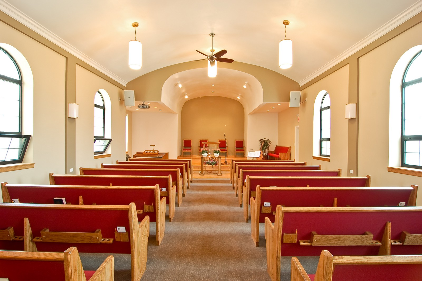 Real Estate Photography - 7534 W Berwyn Ave, Chicago, IL, 60656 - Youth Sanctuary