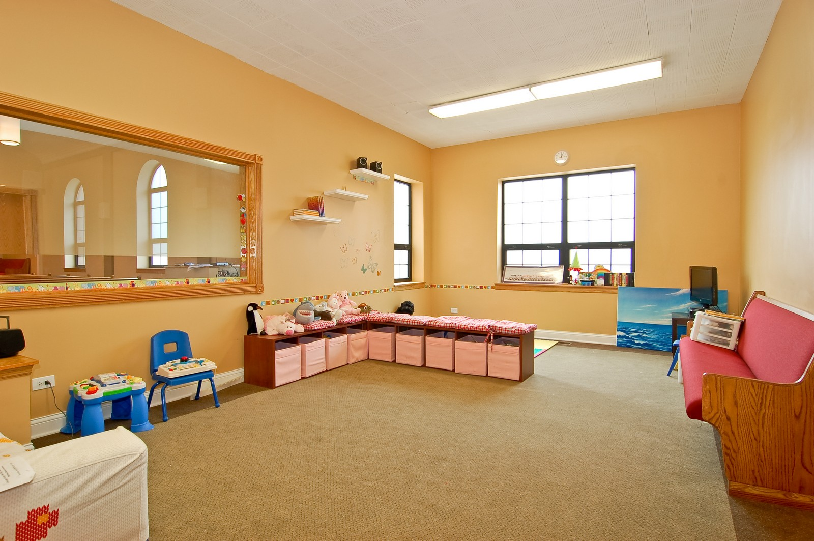 Real Estate Photography - 7534 W Berwyn Ave, Chicago, IL, 60656 - Nursery/Playroom
