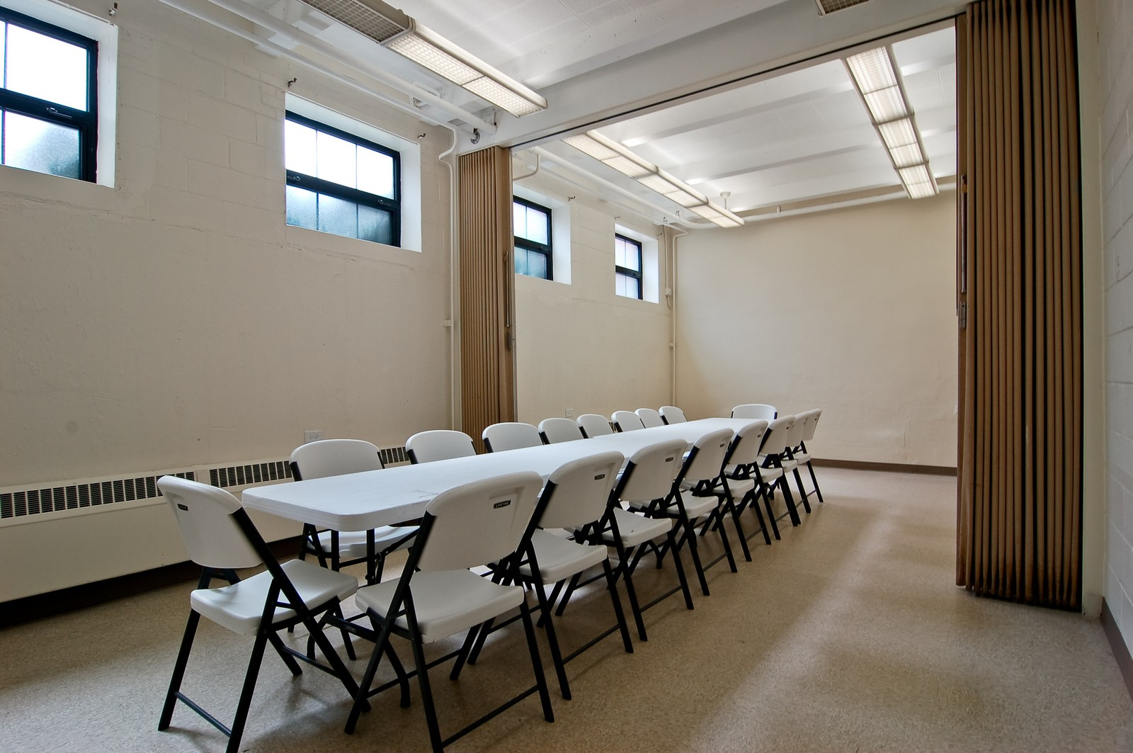 Real Estate Photography - 7534 W Berwyn Ave, Chicago, IL, 60656 - Meeting Room