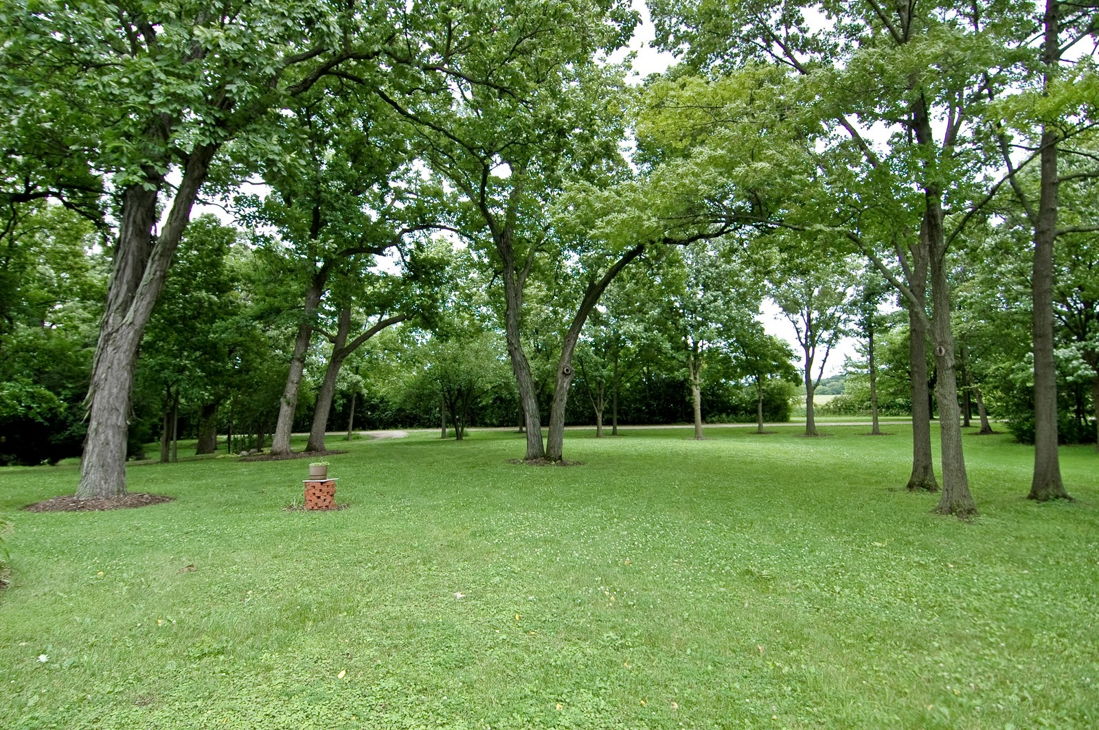 Real Estate Photography - 2785 Chapel, Barrington Hills, IL, 60010 - Front Yard