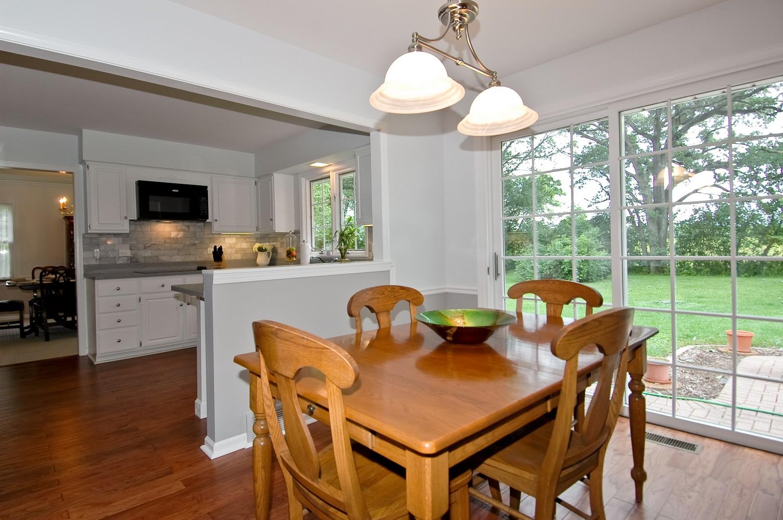Real Estate Photography - 2785 Chapel, Barrington Hills, IL, 60010 - Breakfast Nook