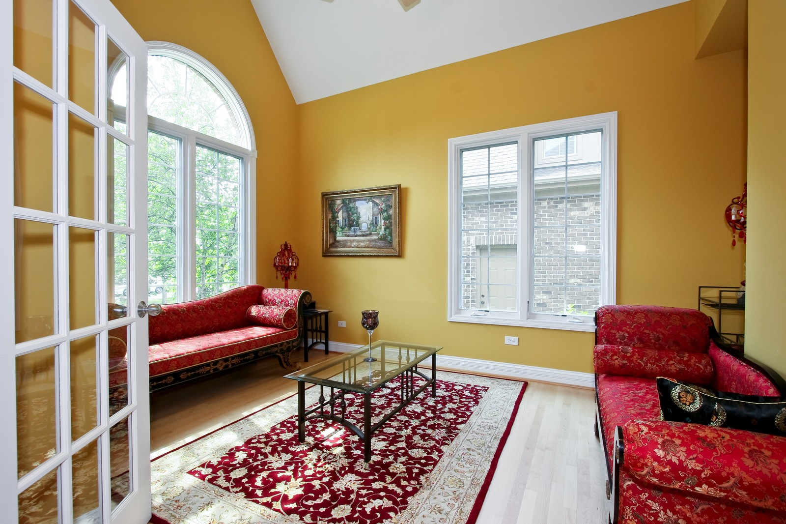 Real Estate Photography - 278 Middaugh Rd, Clarendon Hills, IL, 60514 - Living Room