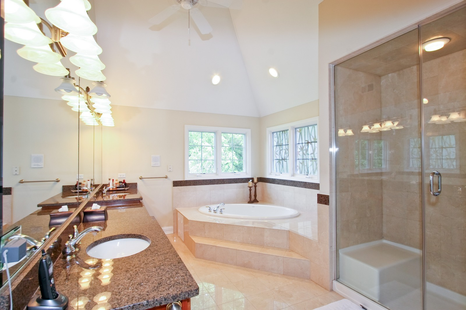 Real Estate Photography - 278 Middaugh Rd, Clarendon Hills, IL, 60514 - Master Bathroom