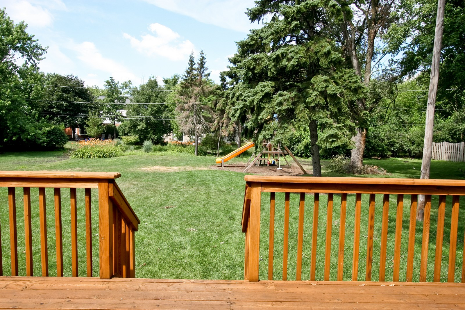 Real Estate Photography - 278 Middaugh Rd, Clarendon Hills, IL, 60514 - Back Yard