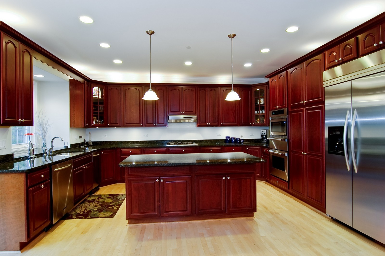 Real Estate Photography - 278 Middaugh Rd, Clarendon Hills, IL, 60514 - Kitchen