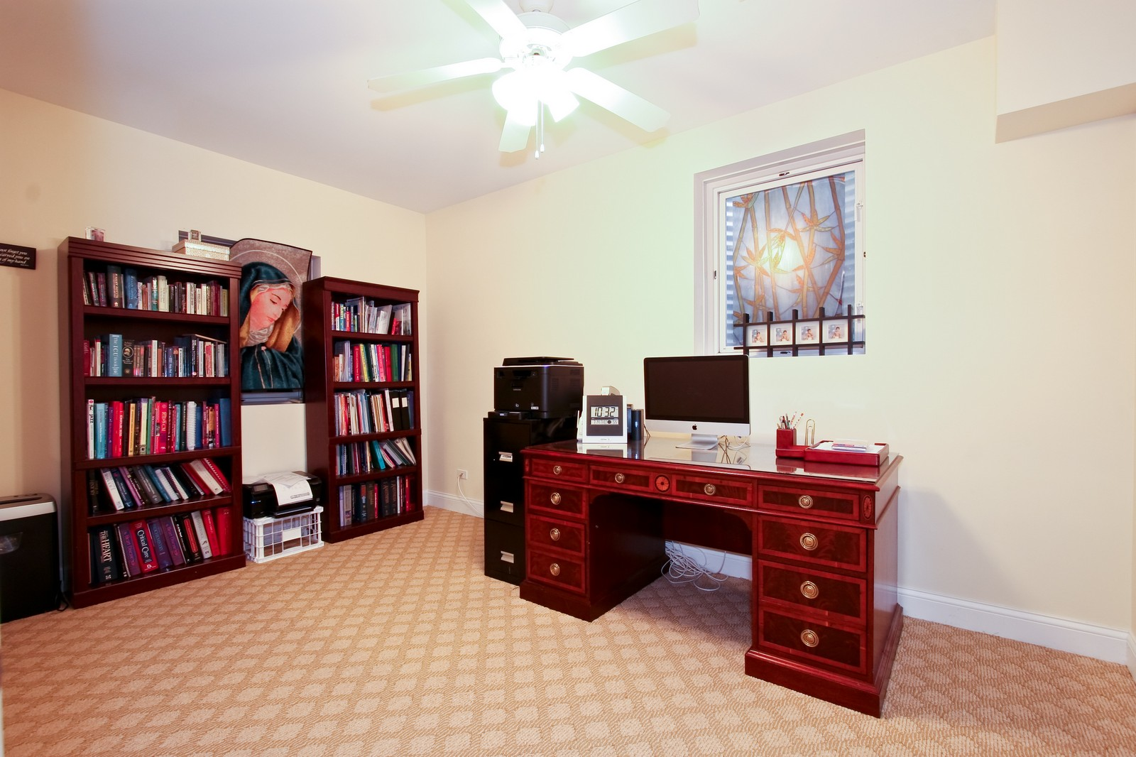 Real Estate Photography - 278 Middaugh Rd, Clarendon Hills, IL, 60514 - Study