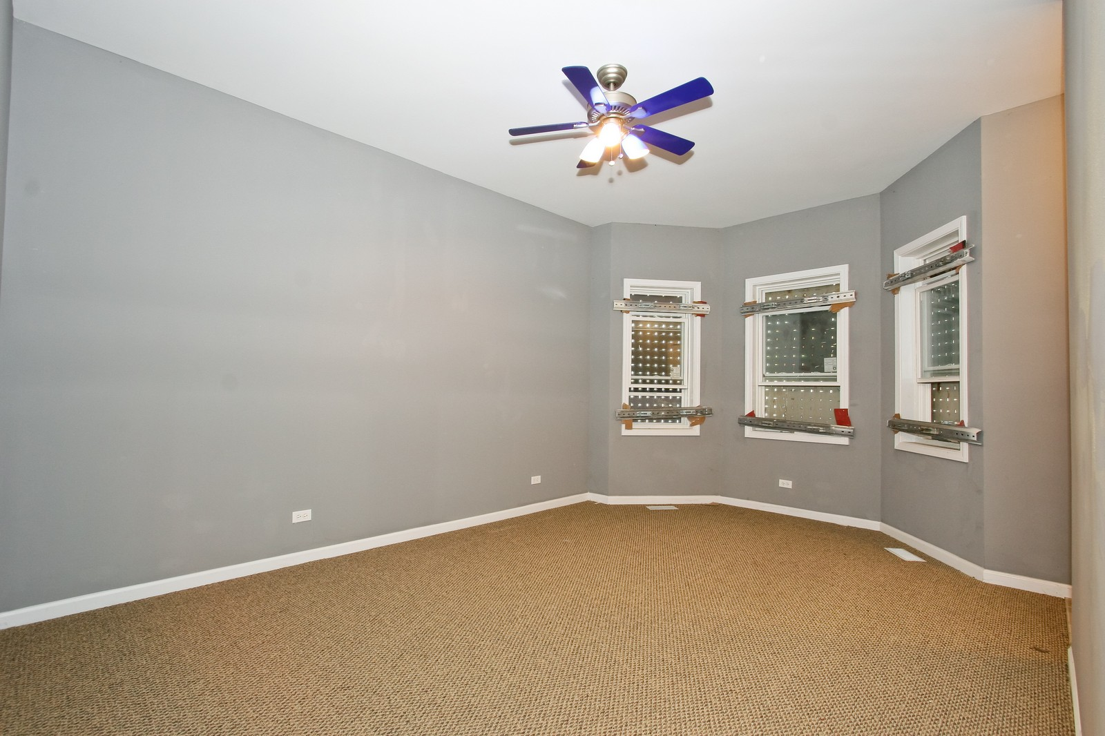 Real Estate Photography - 5237 S Seeley, Chicago, IL, 60609 - Living Room
