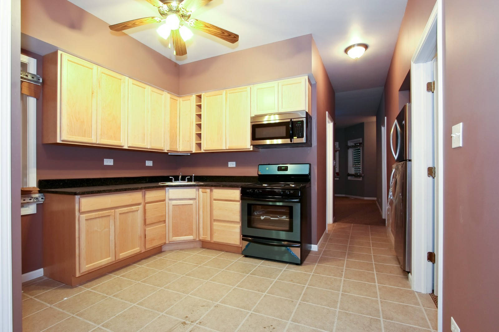 Real Estate Photography - 5237 S Seeley, Chicago, IL, 60609 - Kitchen