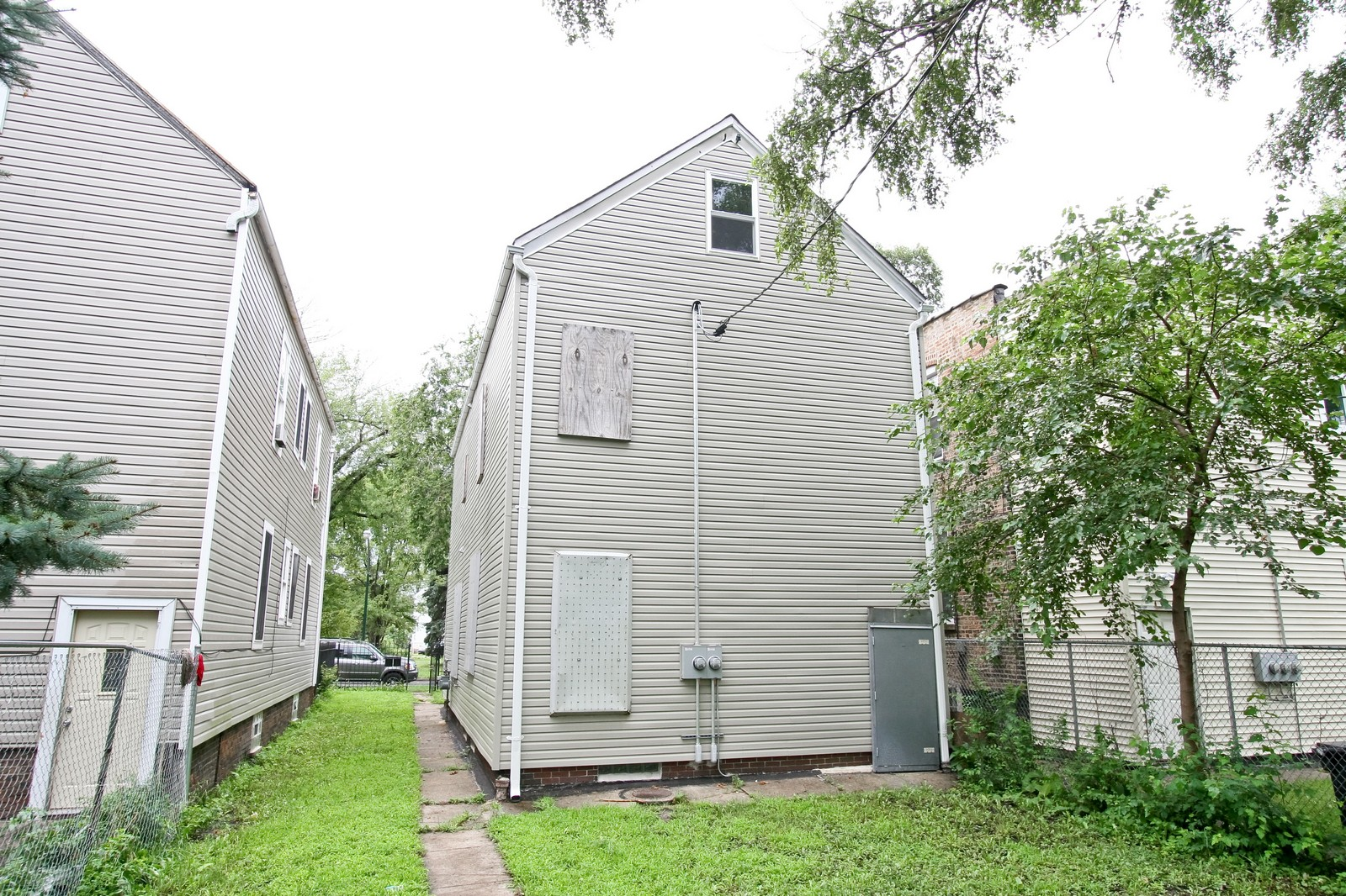 Real Estate Photography - 5237 S Seeley, Chicago, IL, 60609 - Rear View