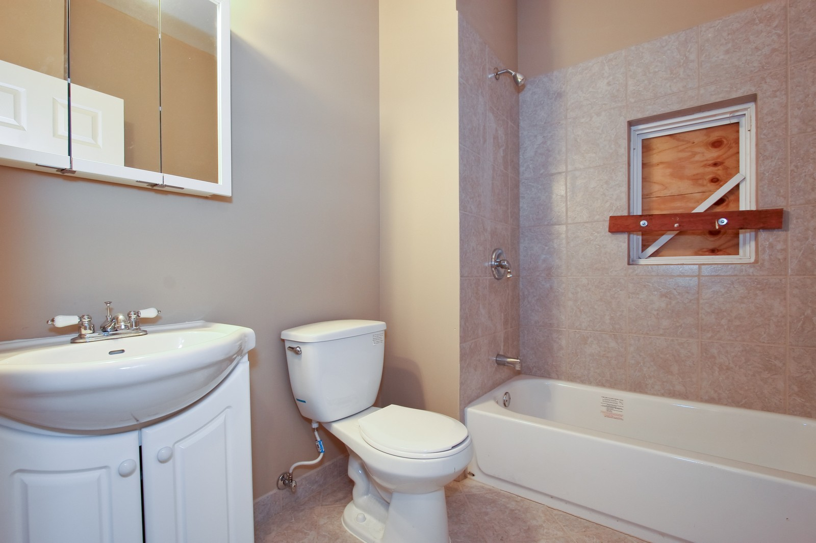 Real Estate Photography - 5237 S Seeley, Chicago, IL, 60609 - Bathroom