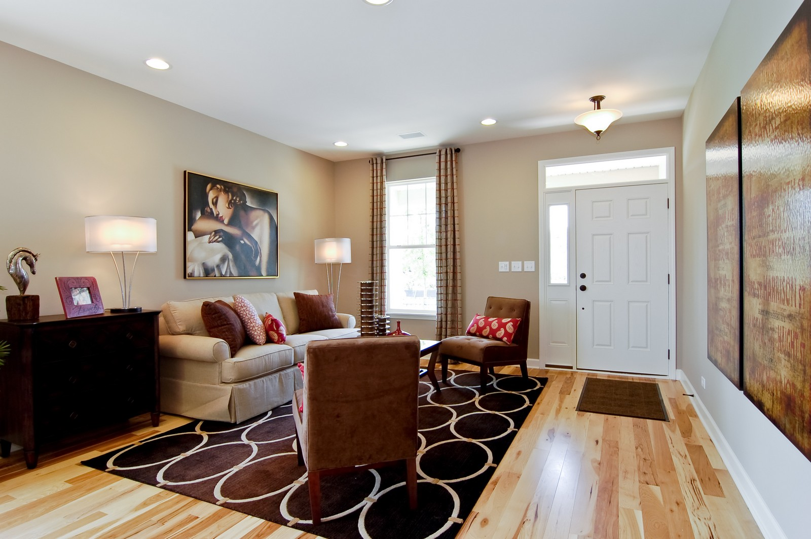 Real Estate Photography - 2648 Regency Court East, St Charles, IL, 60175 - Living Room
