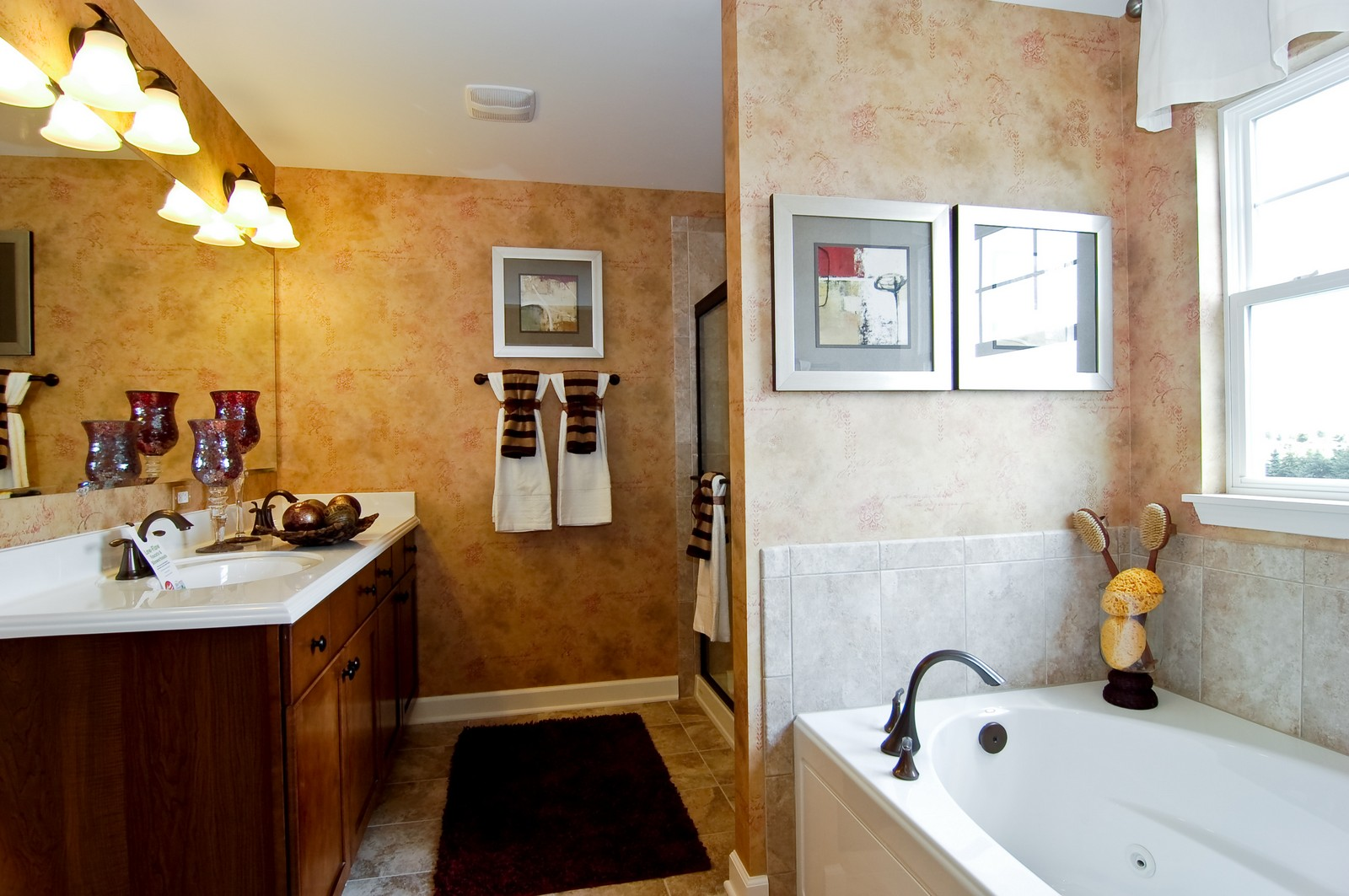 Real Estate Photography - 2648 Regency Court East, St Charles, IL, 60175 - Master Bathroom