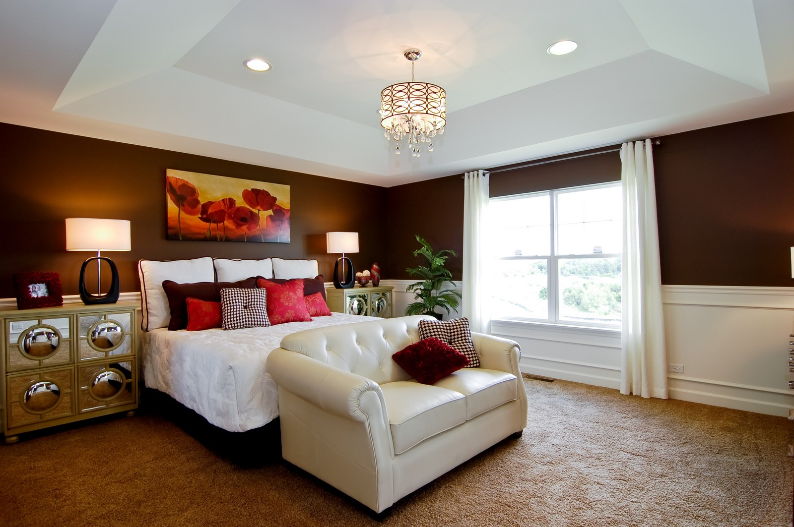 Real Estate Photography - 2648 Regency Court East, St Charles, IL, 60175 - Master Bedroom