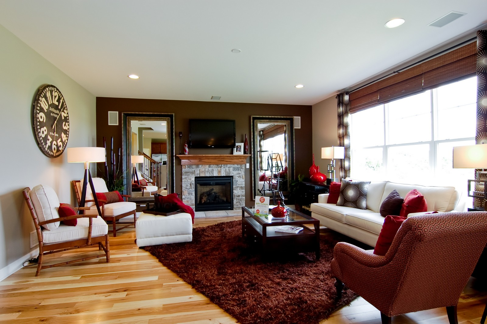 Real Estate Photography - 2648 Regency Court East, St Charles, IL, 60175 - Family Room