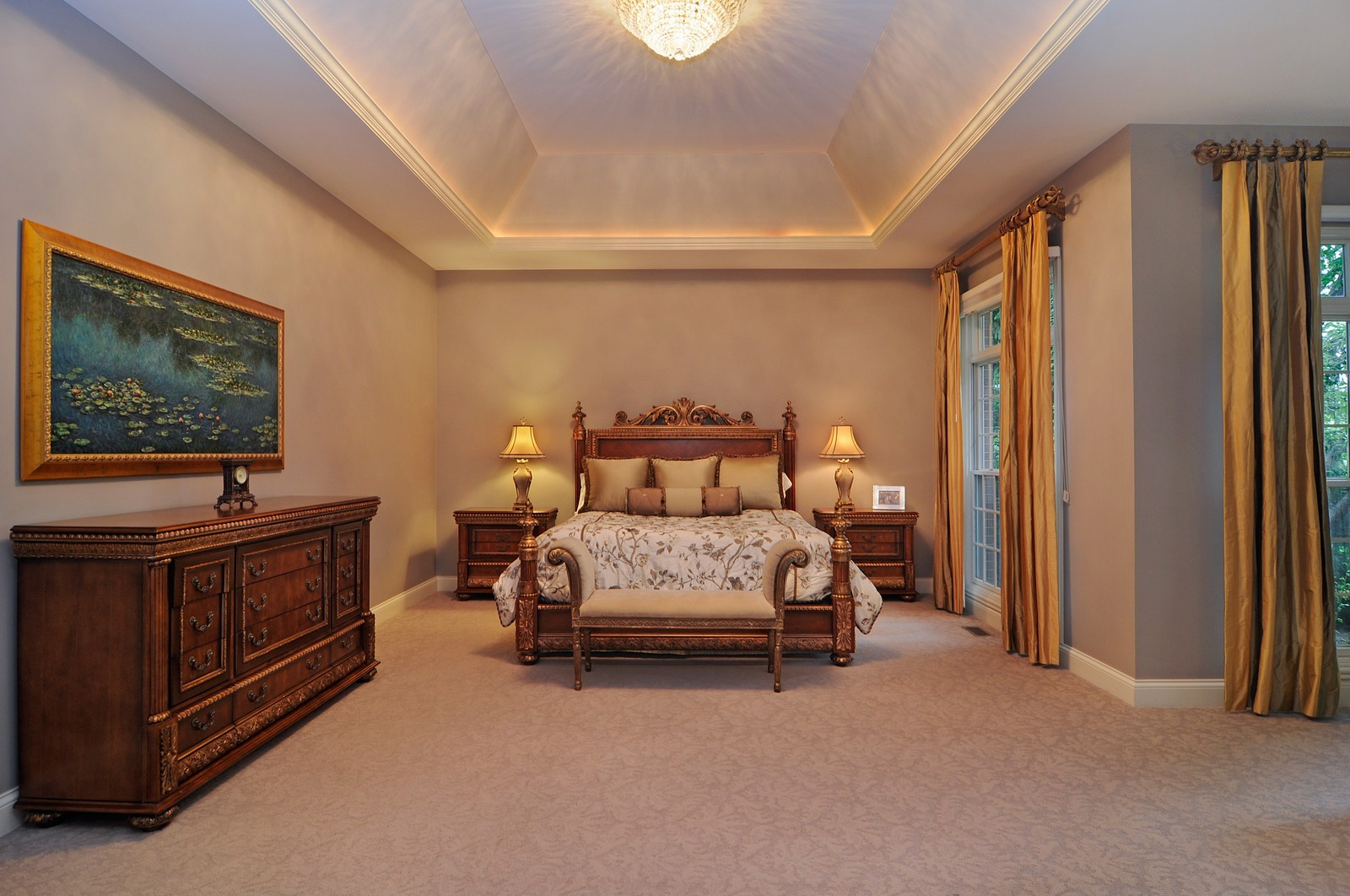 Real Estate Photography - 31 Lake Adalyn Drive, South Barrington, IL, 60010 - Master Bedroom