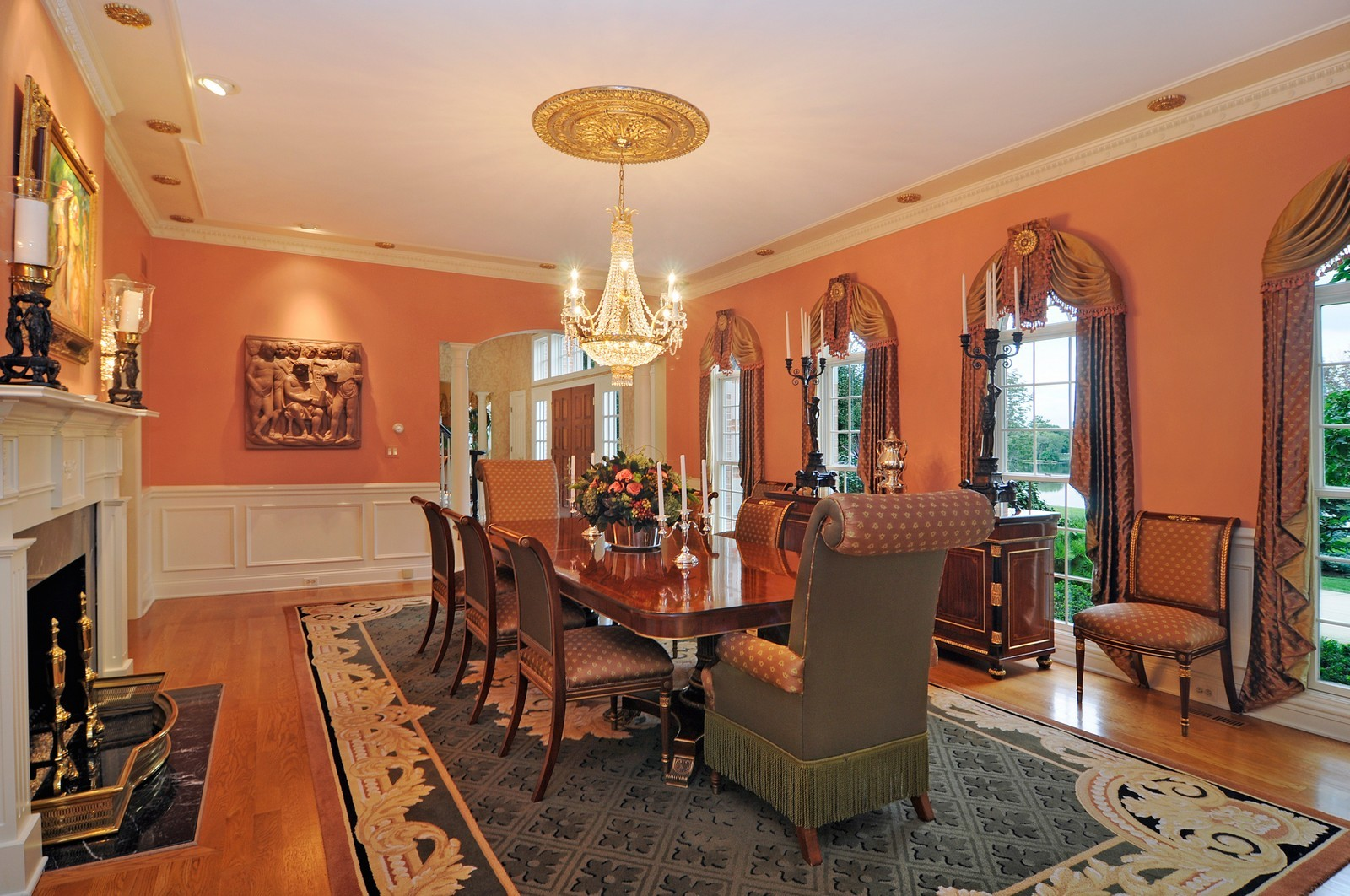 Real Estate Photography - 31 Lake Adalyn Drive, South Barrington, IL, 60010 - Formal Dining Room