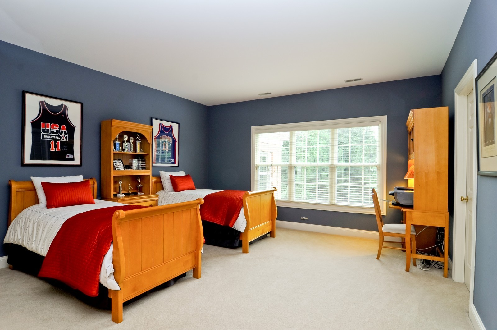 Real Estate Photography - 31 Lake Adalyn Drive, South Barrington, IL, 60010 - 4th Guest Bedroom