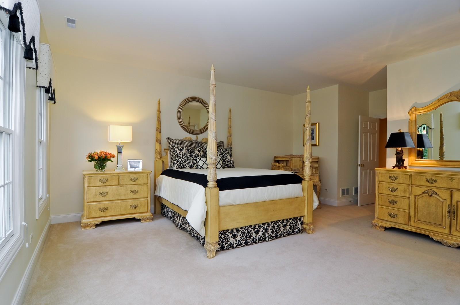 Real Estate Photography - 31 Lake Adalyn Drive, South Barrington, IL, 60010 - 1st Guest Bedroom Suite