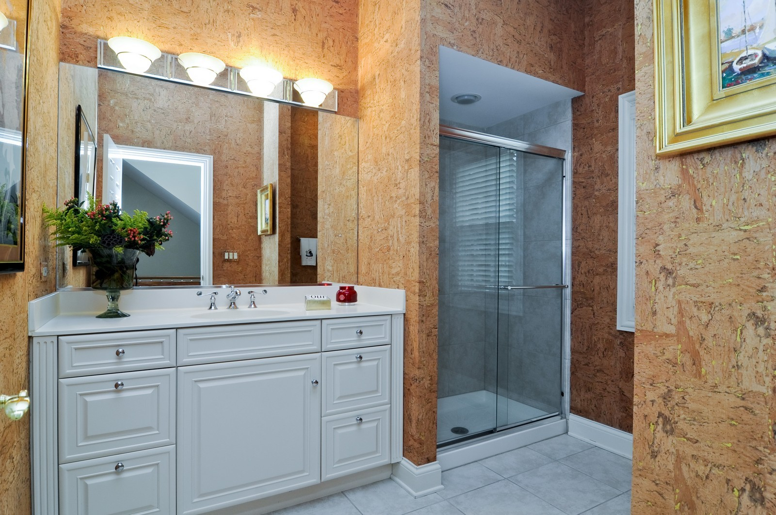 Real Estate Photography - 31 Lake Adalyn Drive, South Barrington, IL, 60010 - 1st Level Full Bathroom