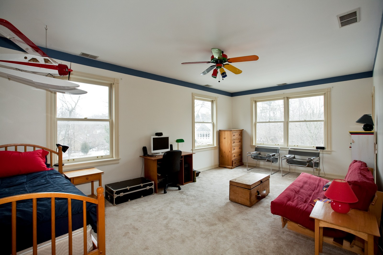 Real Estate Photography - 5324 Turvey Ct, Downers Grove, IL, 60515 - 4th Bedroom