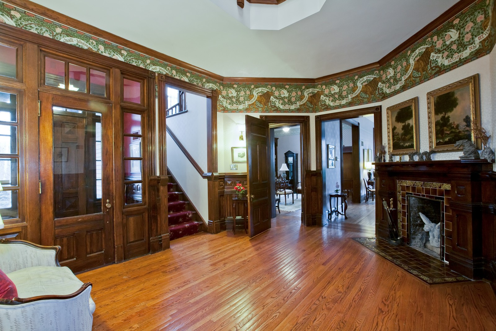 Real Estate Photography - 5324 Turvey Ct, Downers Grove, IL, 60515 - Foyer