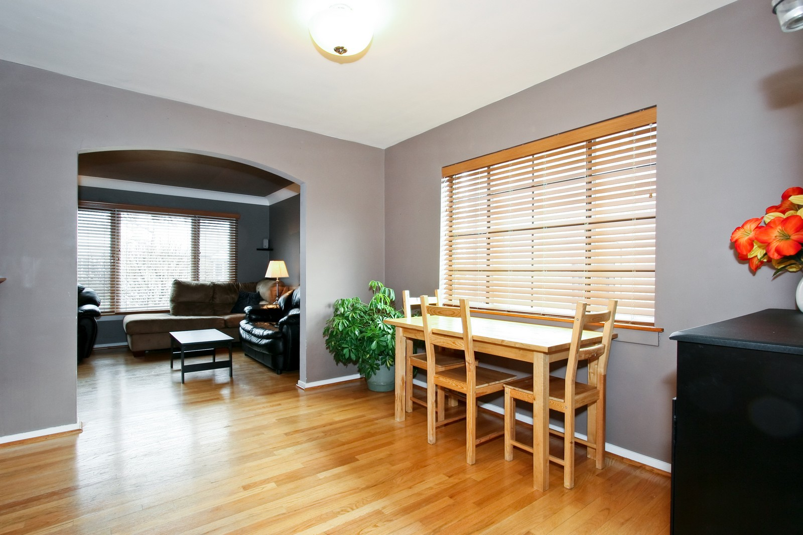 Real Estate Photography - 11468 S Homan, Chicago, IL, 60655 - Dining Room