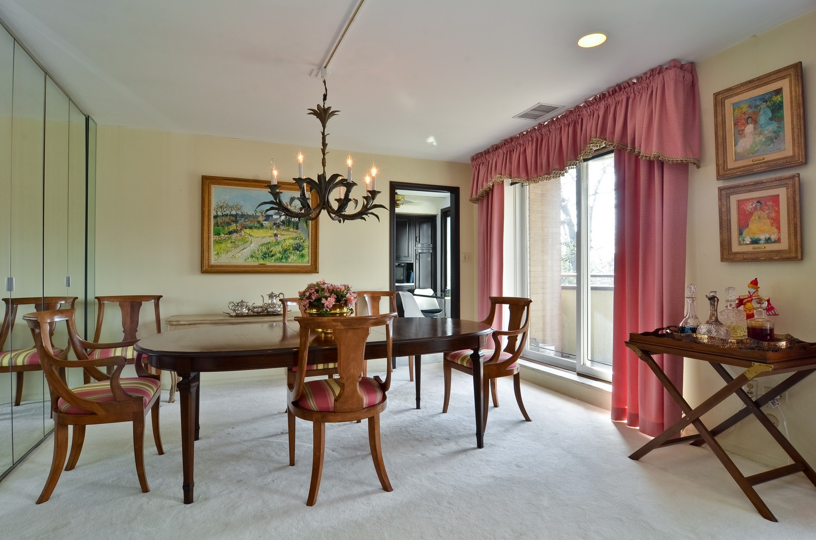 Real Estate Photography - 6450 Cicero, Unit 201, Lincolnwood, IL, 60712 - Dining Room