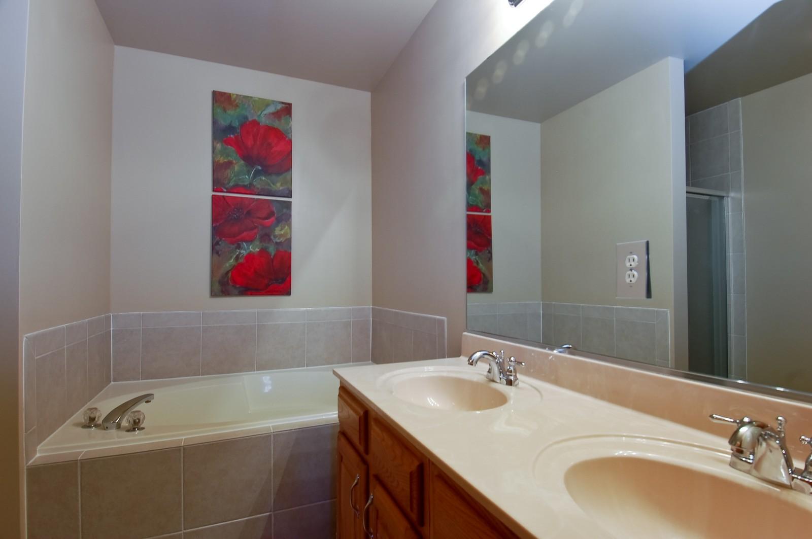 Real Estate Photography - 1109 Westfield Course, Geneva, IL, 60134 - Master Bathroom