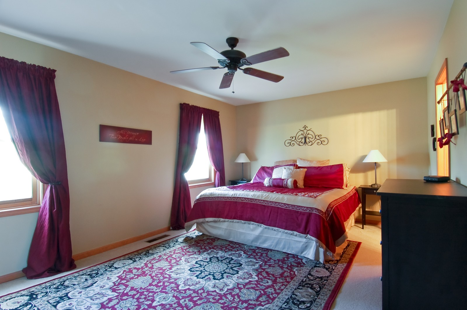 Real Estate Photography - 1109 Westfield Course, Geneva, IL, 60134 - Master Bedroom