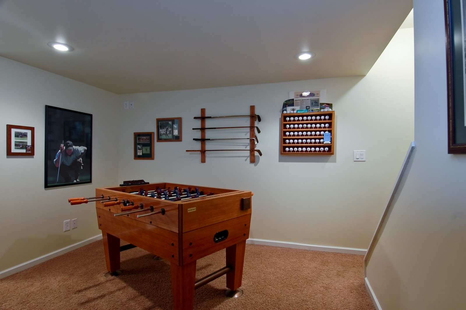 Real Estate Photography - 1109 Westfield Course, Geneva, IL, 60134 - Gameroom