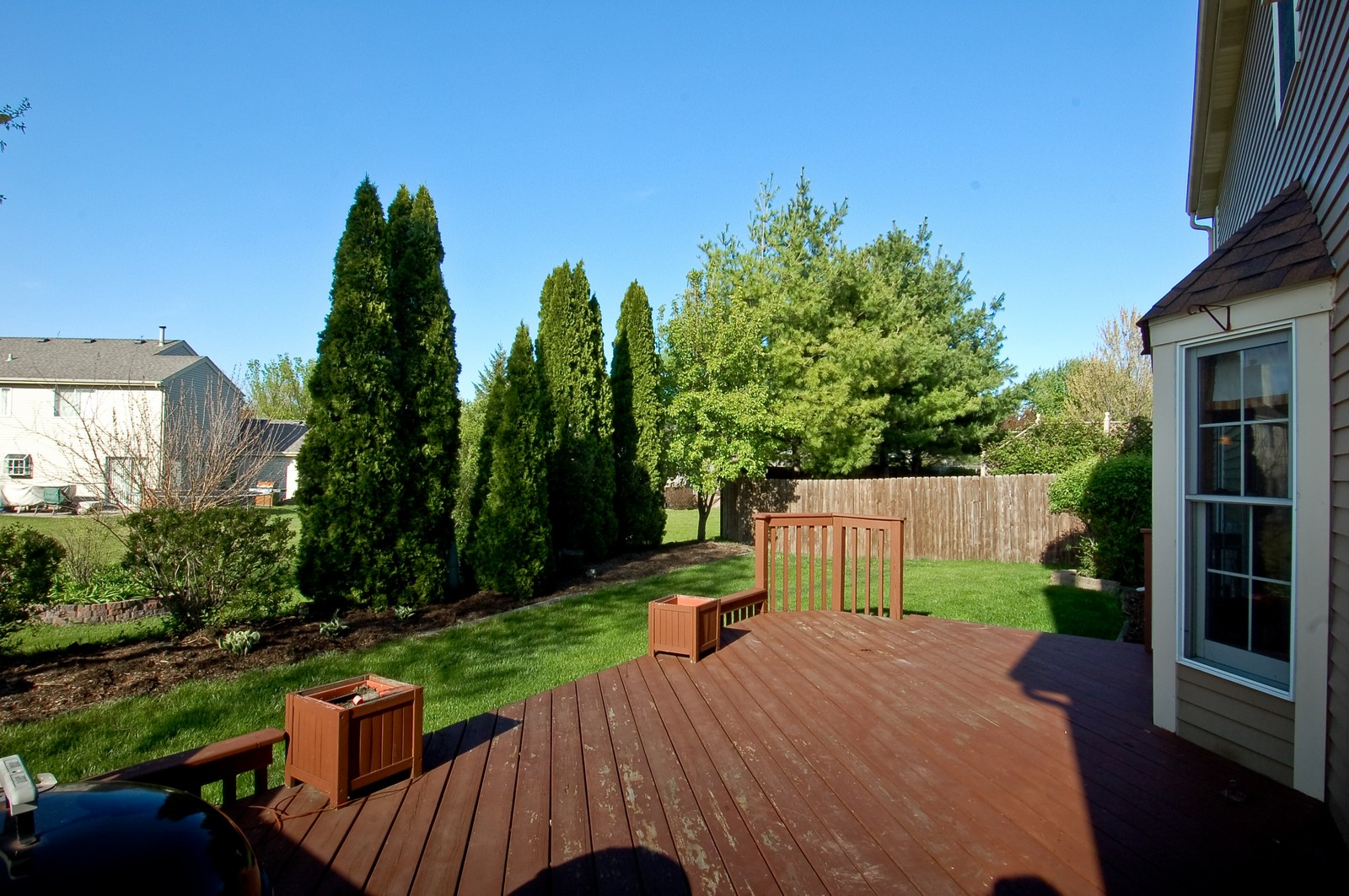 Real Estate Photography - 1109 Westfield Course, Geneva, IL, 60134 - Deck