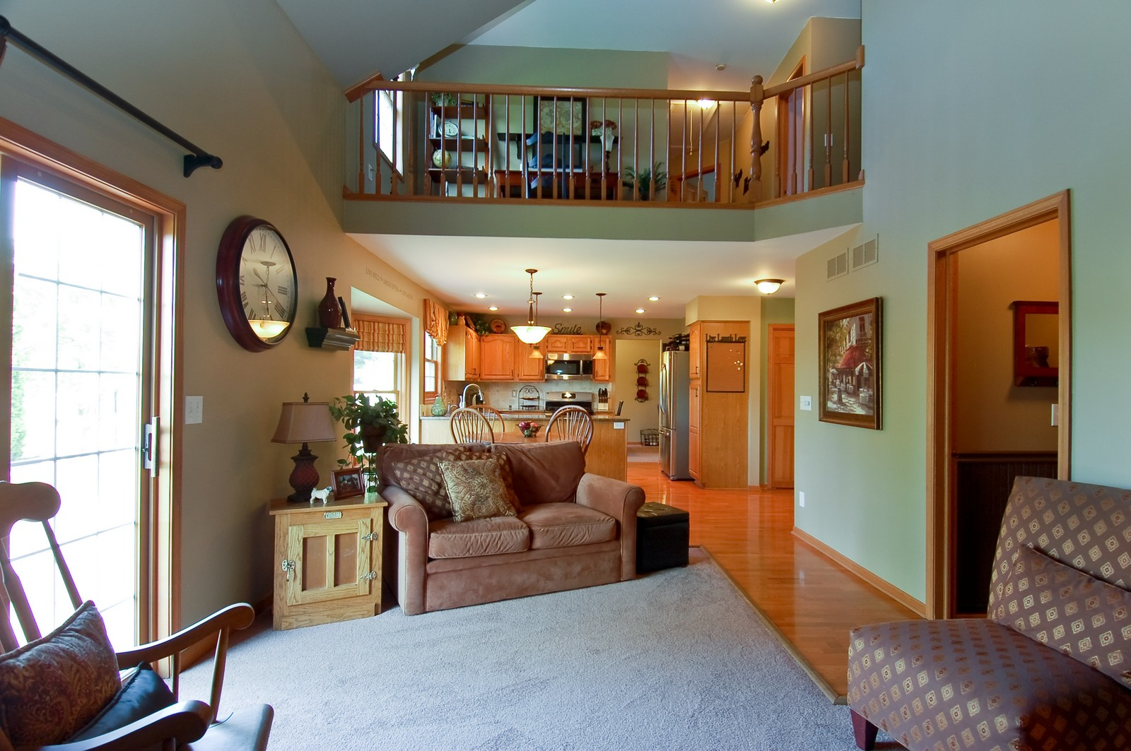 Real Estate Photography - 1109 Westfield Course, Geneva, IL, 60134 - Family Room / Kitchen
