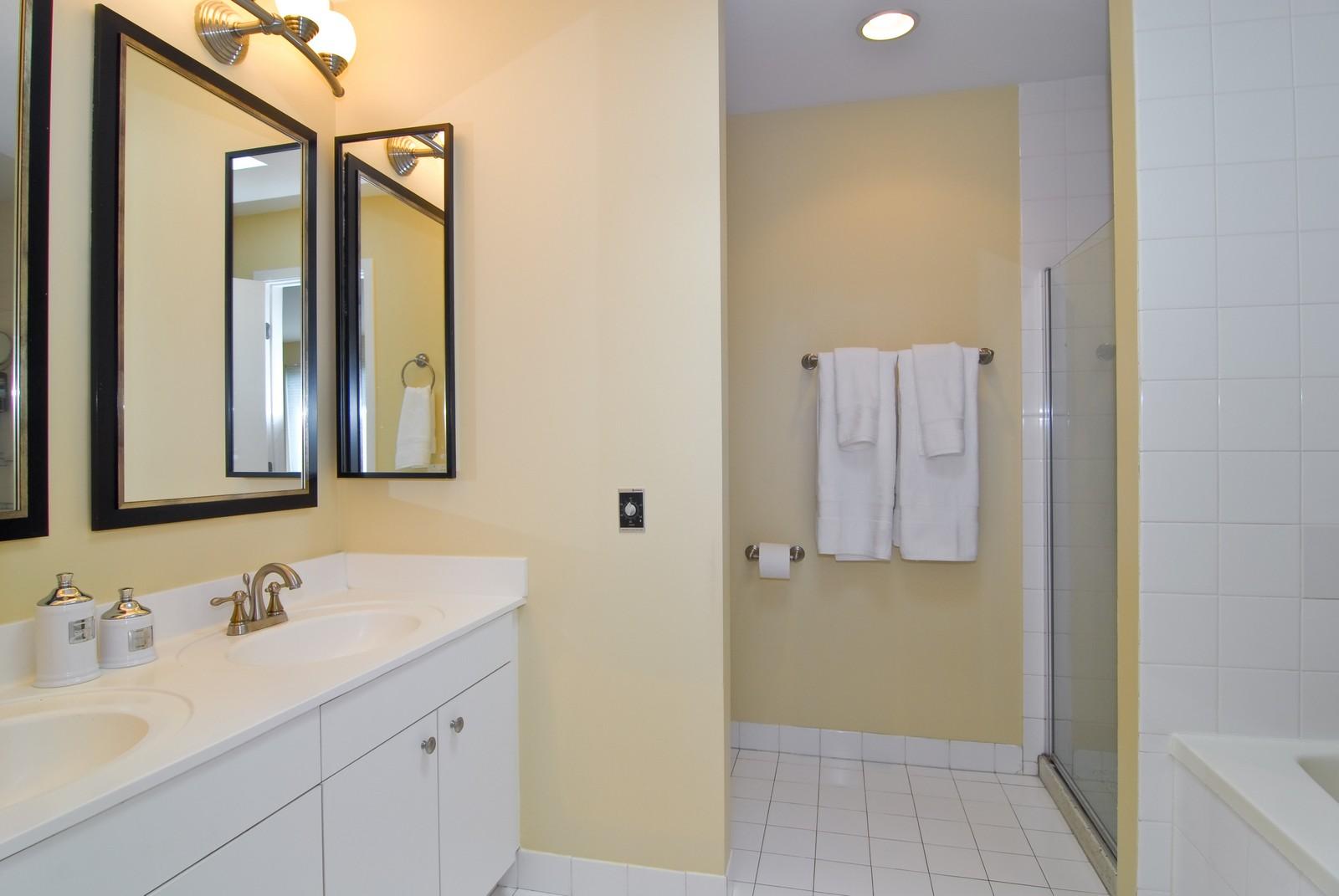Real Estate Photography - 2501 N Wayne, Unit 17, Chicago, IL, 60614 - Master Bathroom