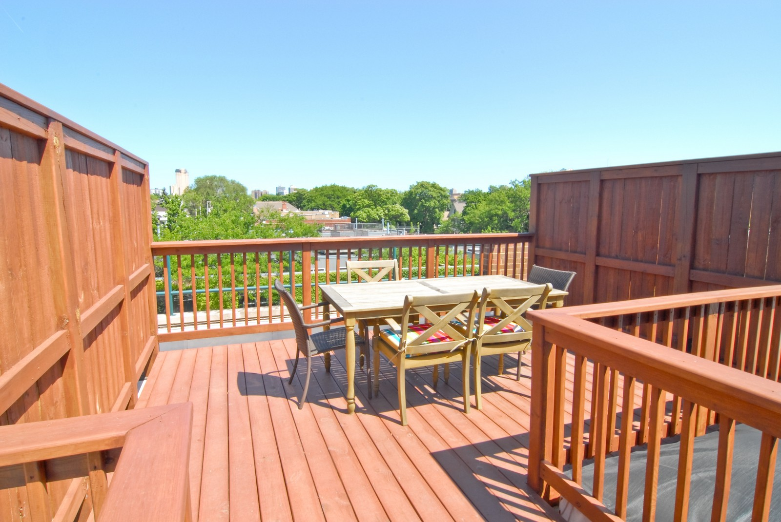 Real Estate Photography - 2501 N Wayne, Unit 17, Chicago, IL, 60614 - Roof Deck
