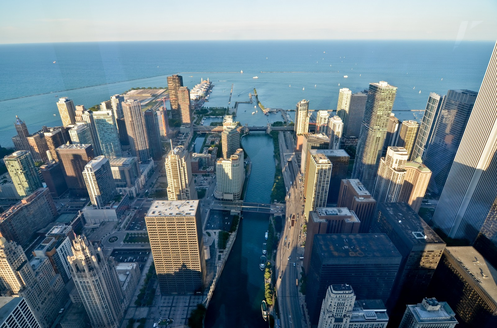 Real Estate Photography - 401 N Wabash, Unit PH89A, Chicago, IL, 60611 - View