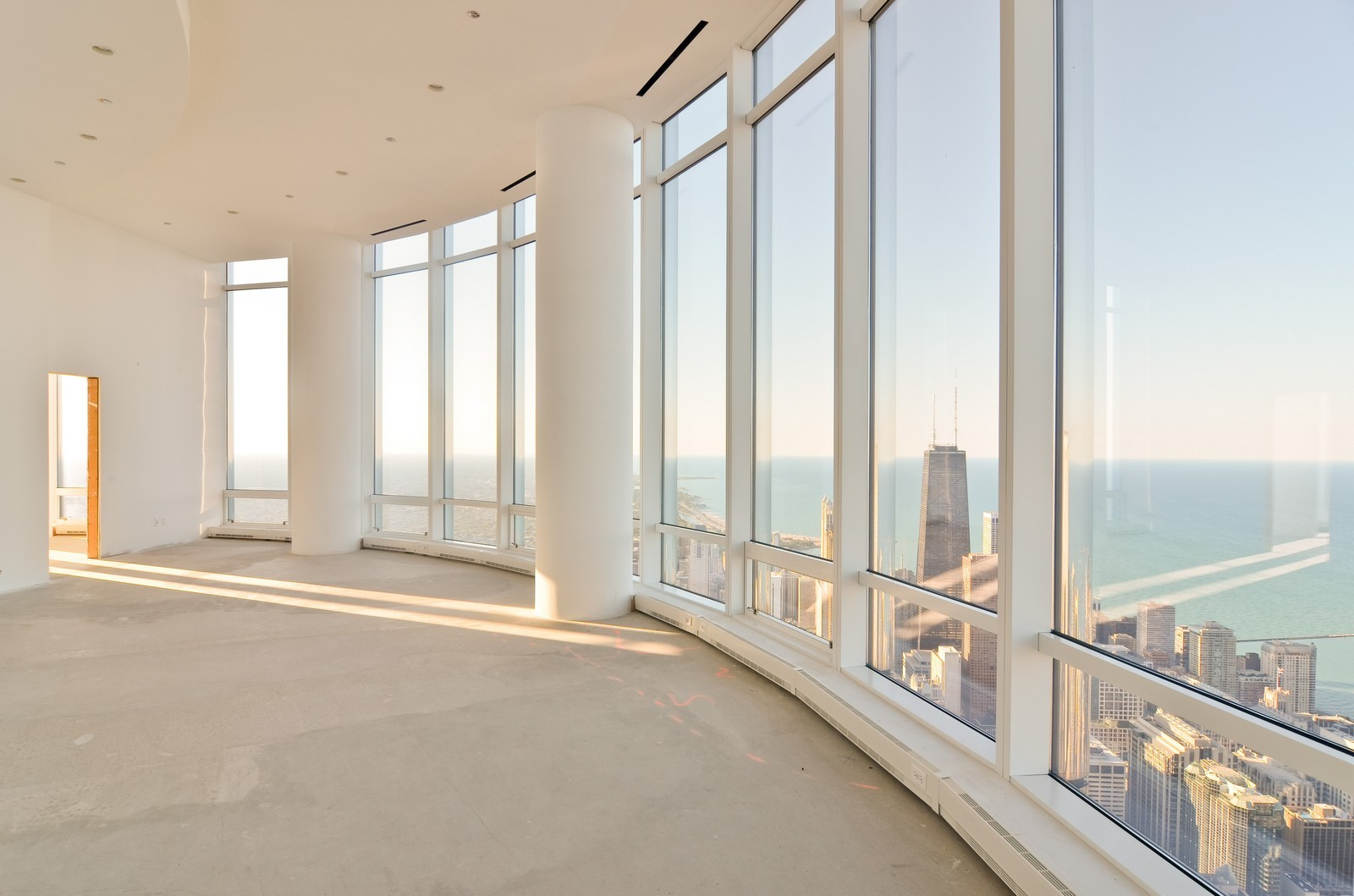 Real Estate Photography - 401 N Wabash, Unit PH89A, Chicago, IL, 60611 - Master Bedroom