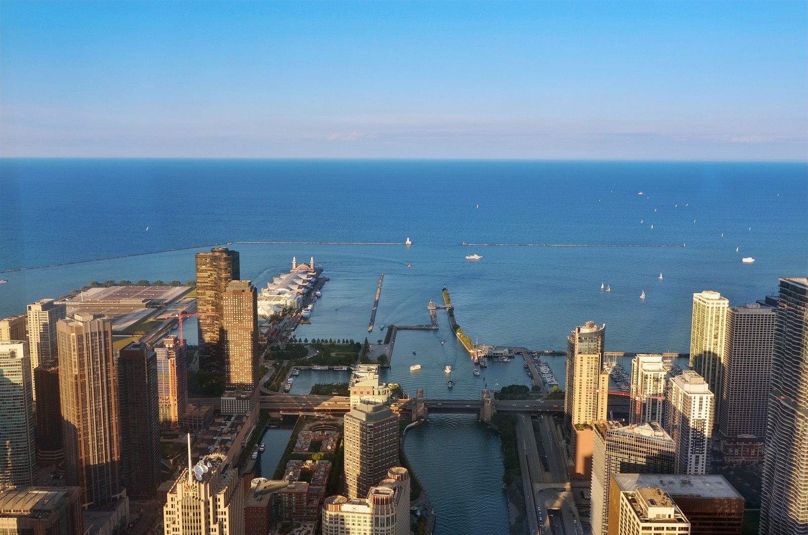 Real Estate Photography - 401 N Wabash, Unit PH89A, Chicago, IL, 60611 - Lake View