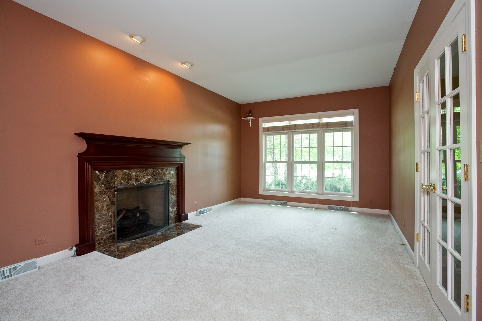 Real Estate Photography - 444 Lynn Ct, Clarendon Hills, IL, 60514 - Living Room