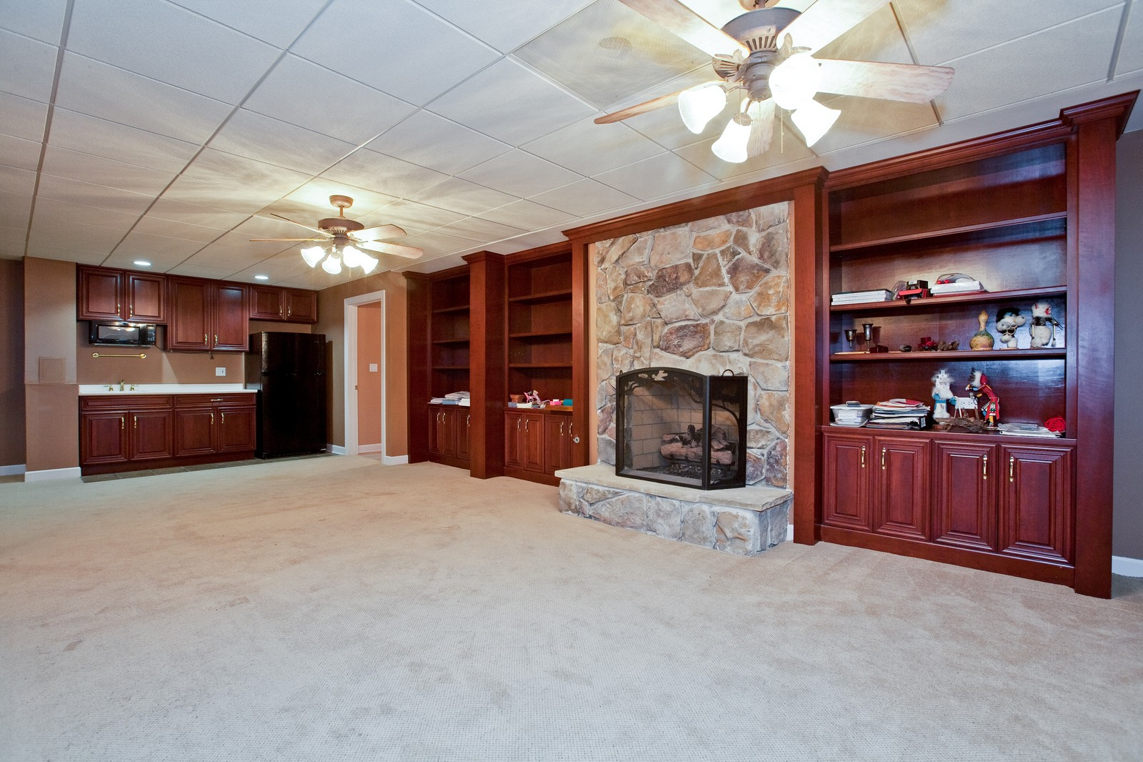 Real Estate Photography - 444 Lynn Ct, Clarendon Hills, IL, 60514 - Recreational Room