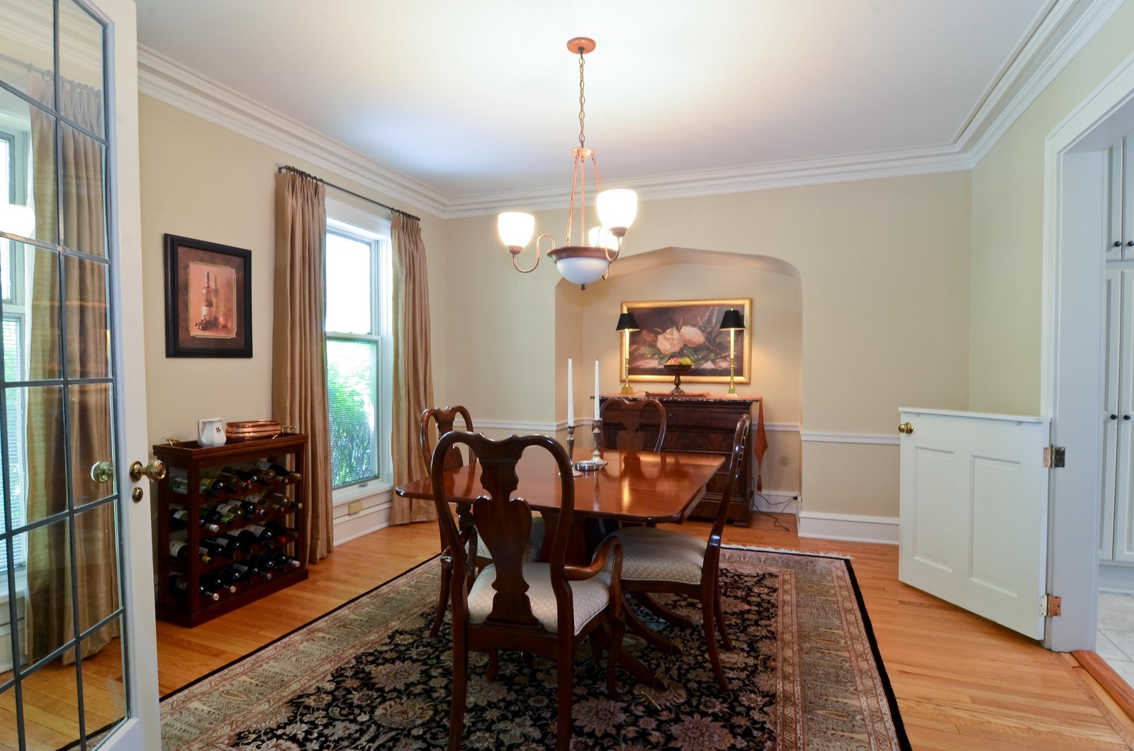 Real Estate Photography - 3444 N Hackett Ave, Milwaukee, WI, 53211 - Dining Room