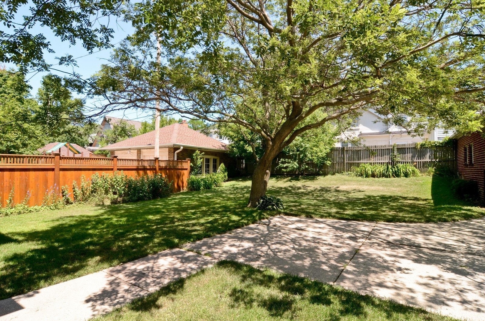Real Estate Photography - 3444 N Hackett Ave, Milwaukee, WI, 53211 - Back Yard