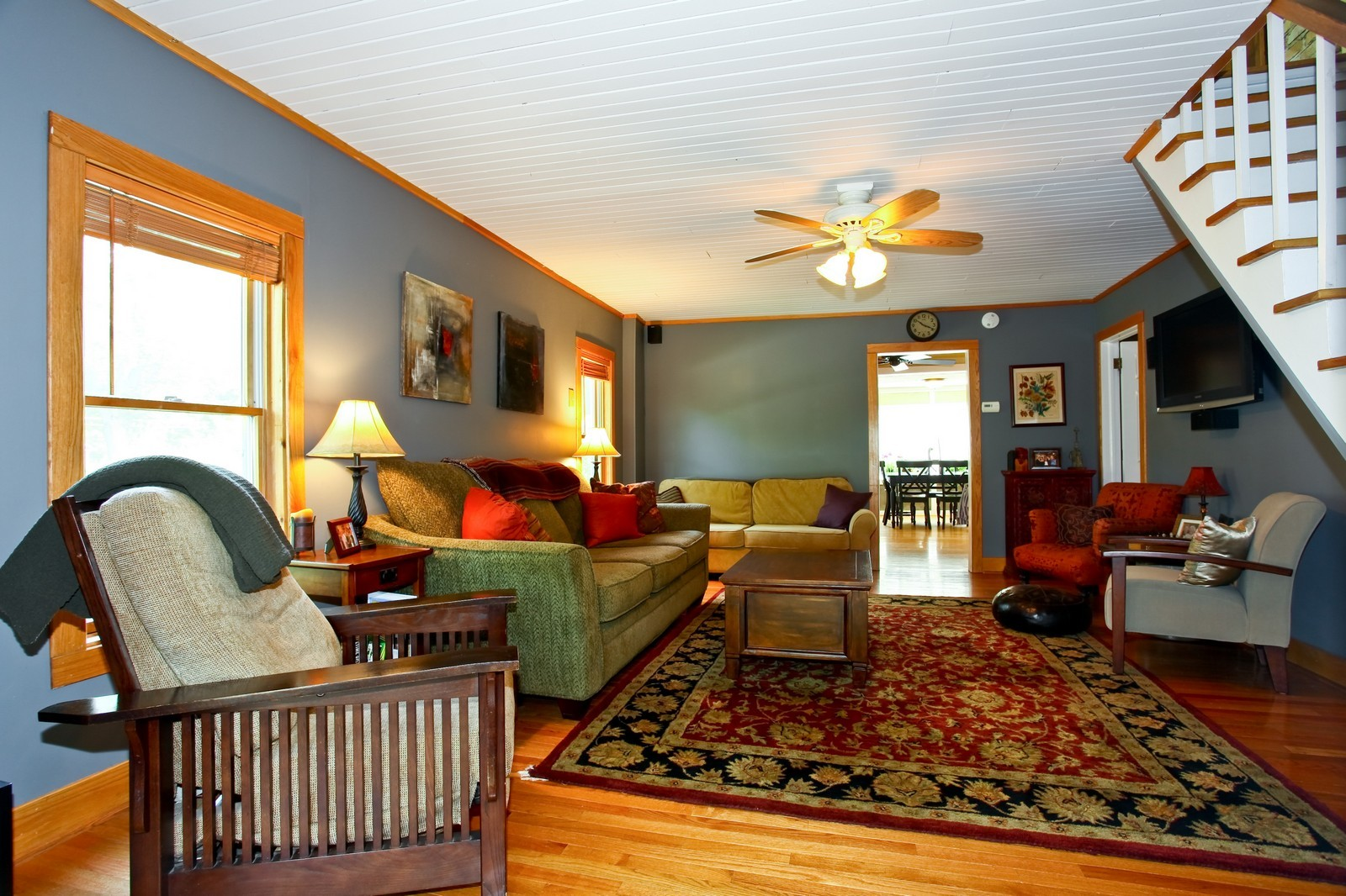 Real Estate Photography - 34W407 Maple Ln, St Charles, IL, 60174 - Living Room