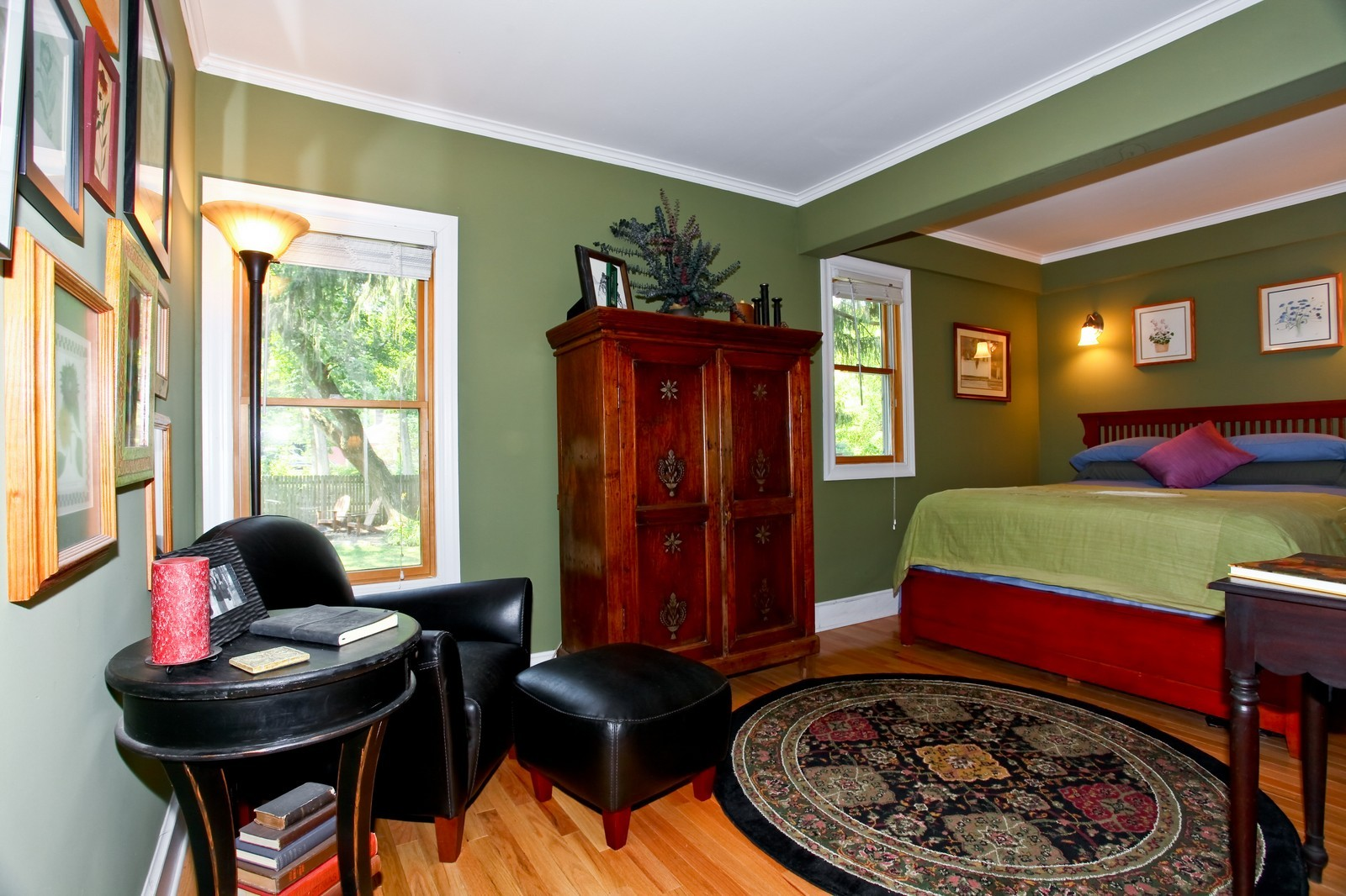 Real Estate Photography - 34W407 Maple Ln, St Charles, IL, 60174 - Master Bedroom