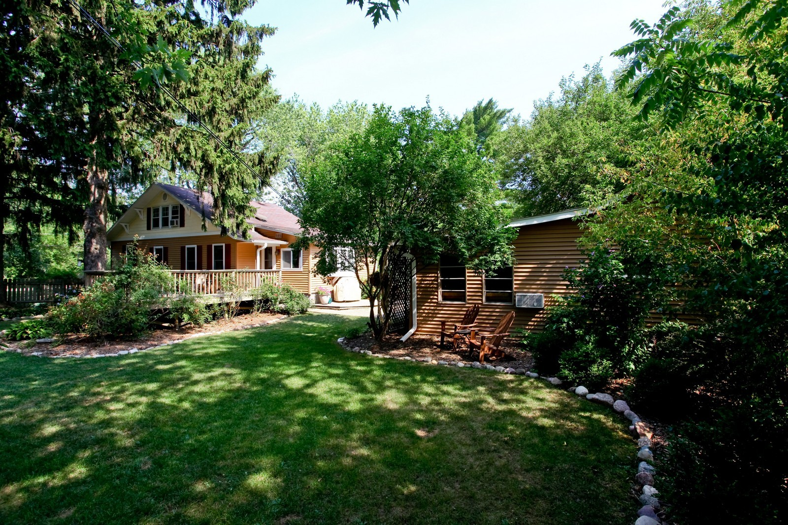 Real Estate Photography - 34W407 Maple Ln, St Charles, IL, 60174 - Rear View