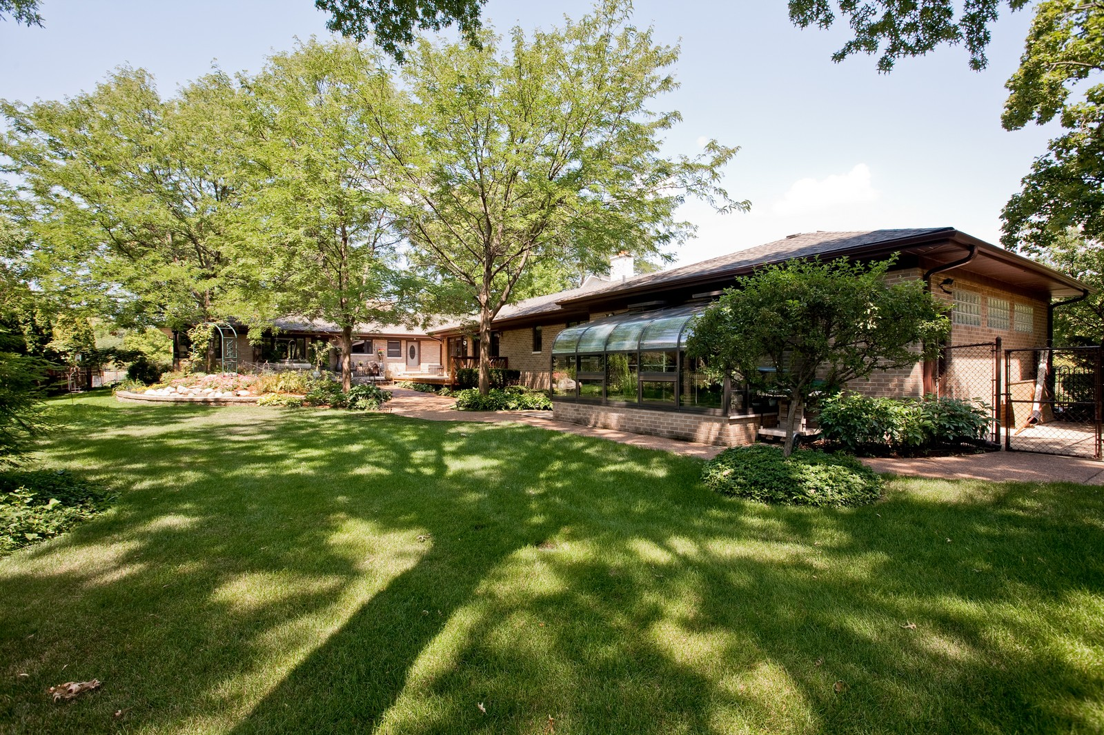 Real Estate Photography - 131 Woodland Dr, Oak Brook, IL, 60523 - Rear View